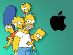 Los Simpsons parodian a Apple