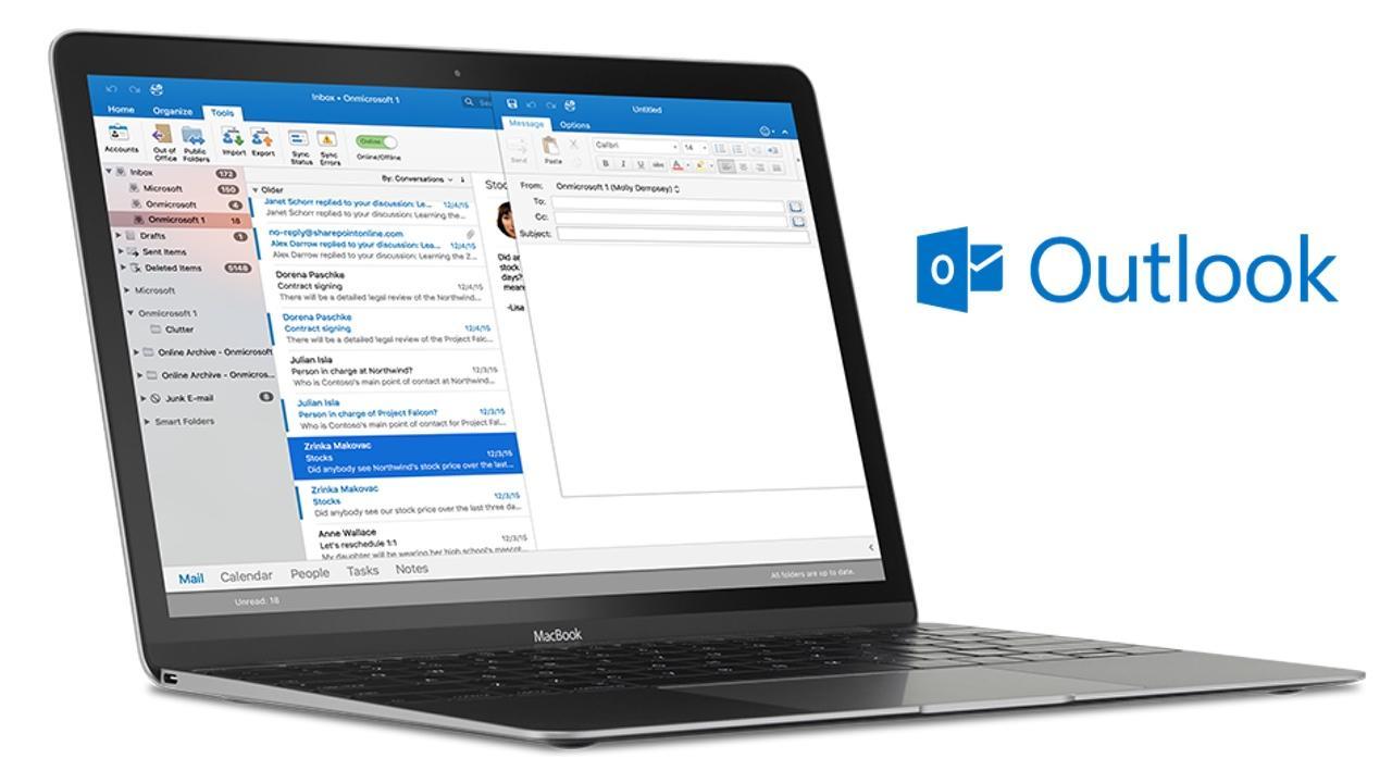 Outlook en Mac