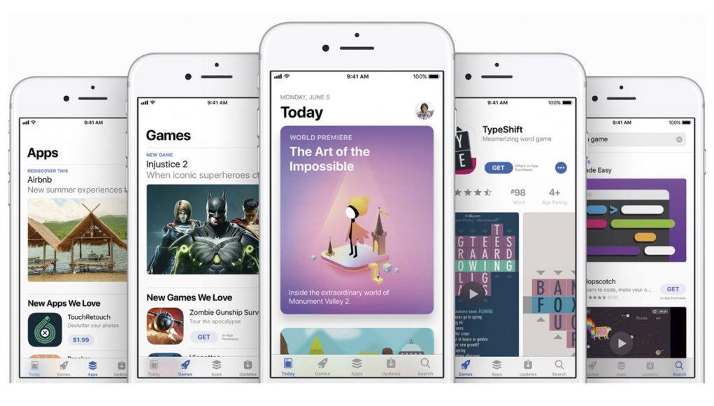 Nueva interfaz de la App Store en iOS 11