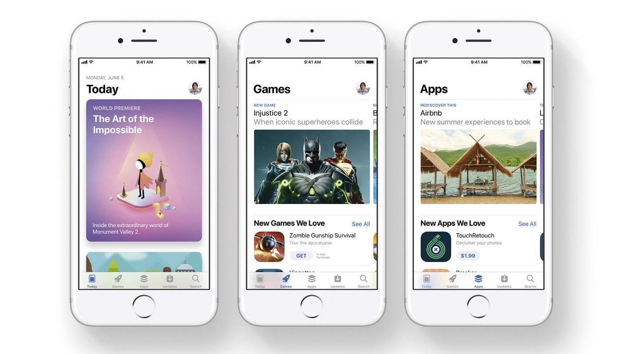 Diseño renovado de la App Store en iOS 11