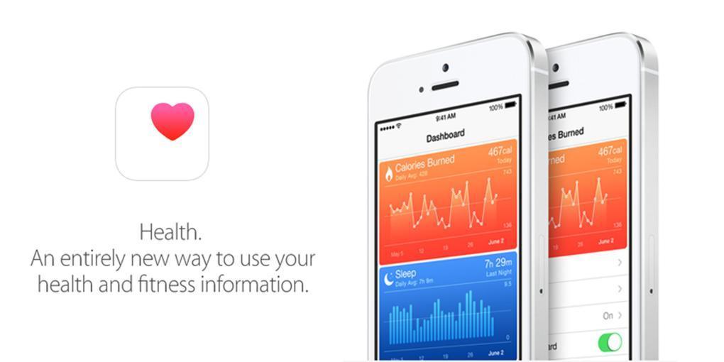 Apple nos permite seguir datos relativos al ejercicio que realizamos, pero no incorpora aún información clínica exhaustiva, mejora que llegará con la nueva actualización.