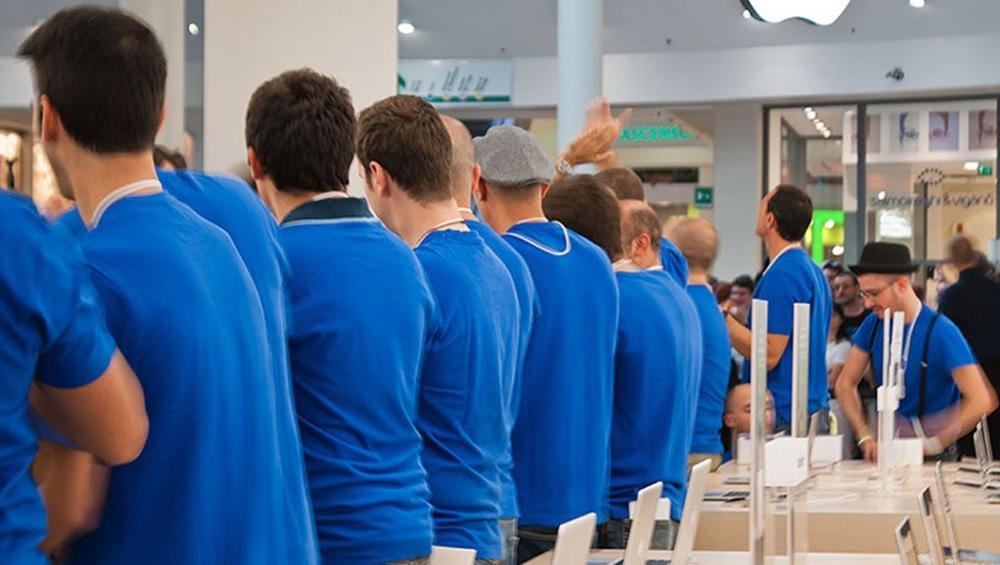 Empleados de Apple Store