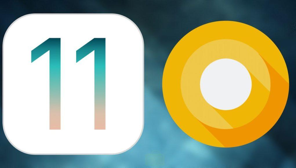 iOS-11 vs Android O