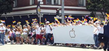 Apple muestra su apoyo al colectivo LGTB en distintas ciudades de EE.UU