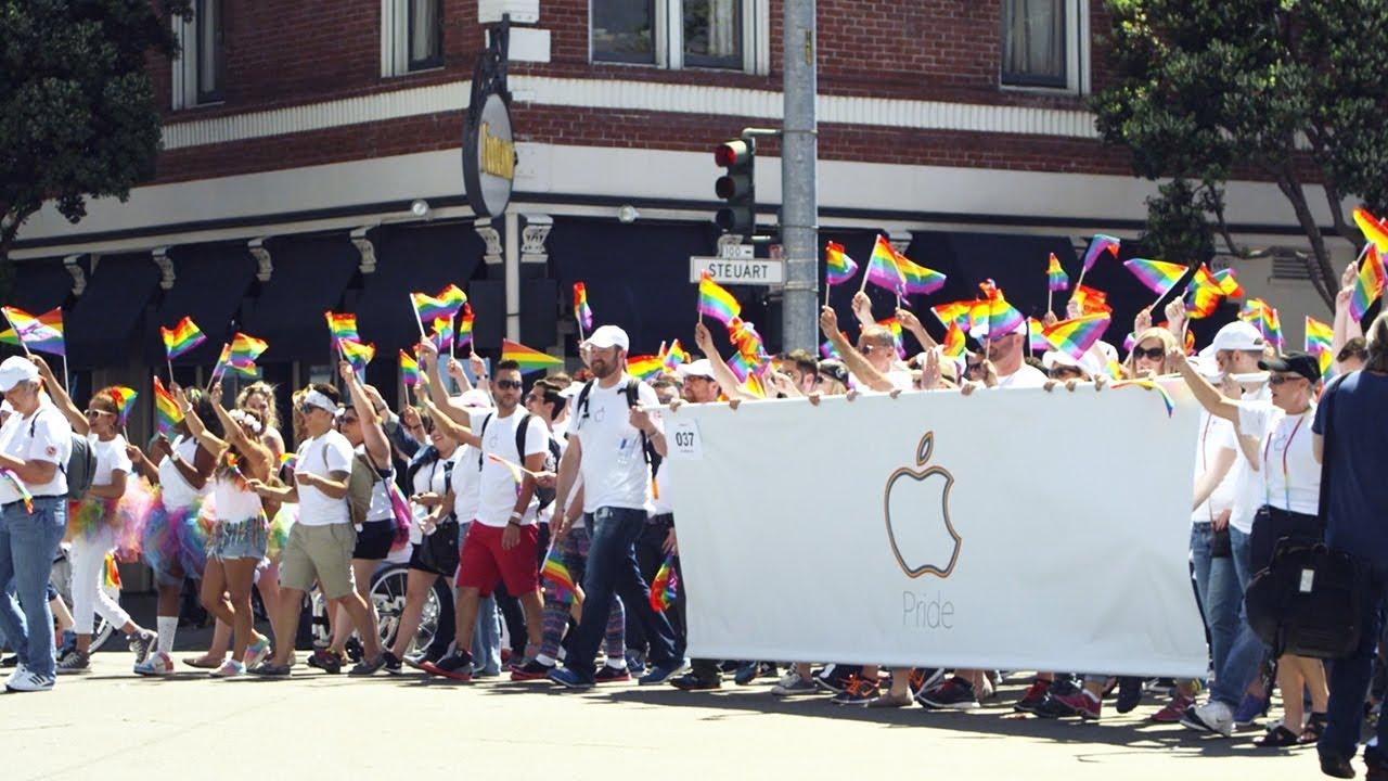 Apple con el Día del Orgullo LGTB.