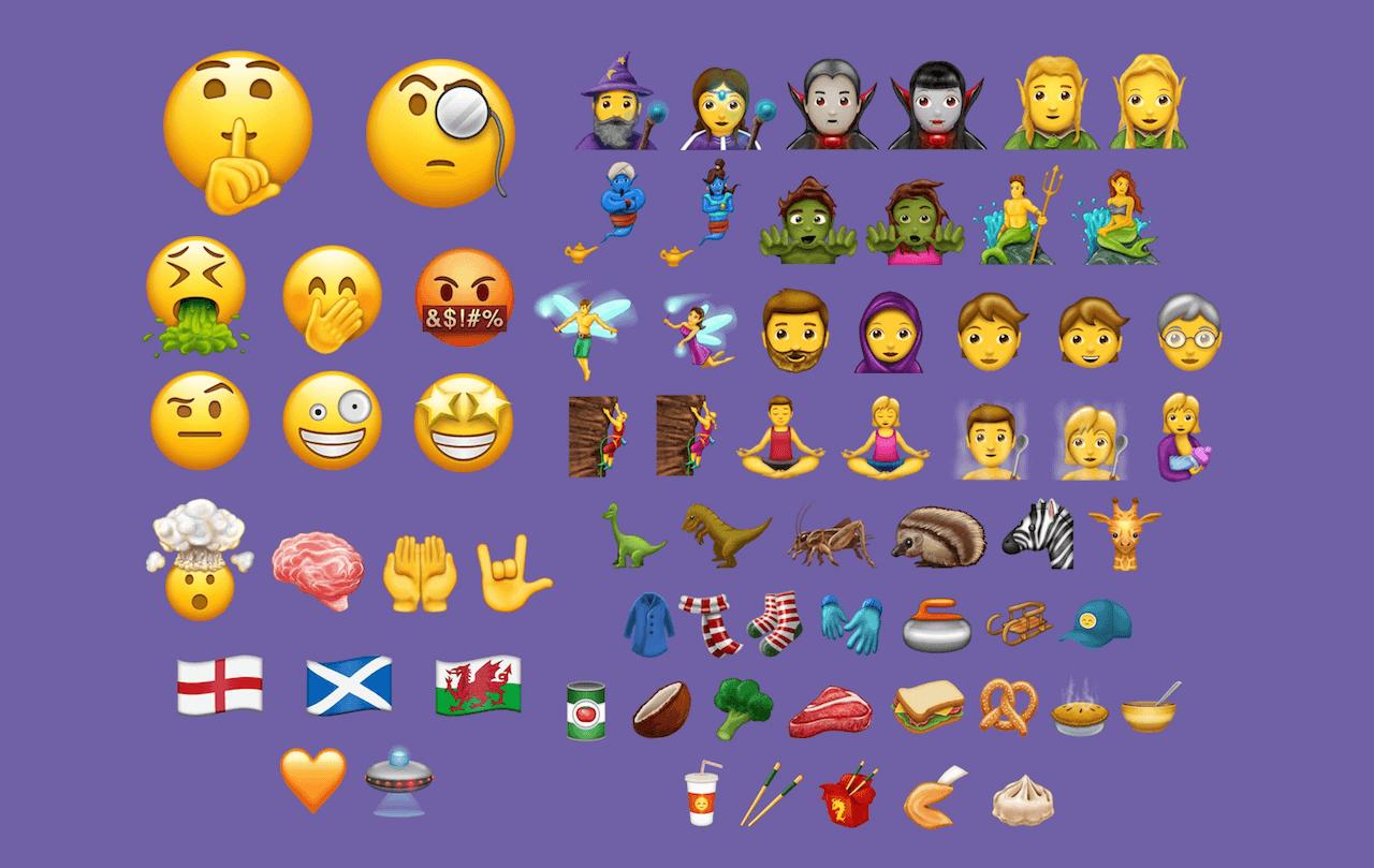 Emoji en Unicode 10