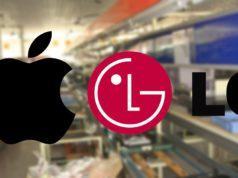 Apple y LG