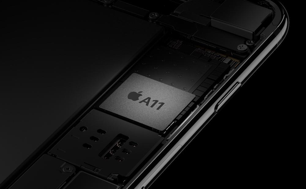 Chip A11 del iPhone 8