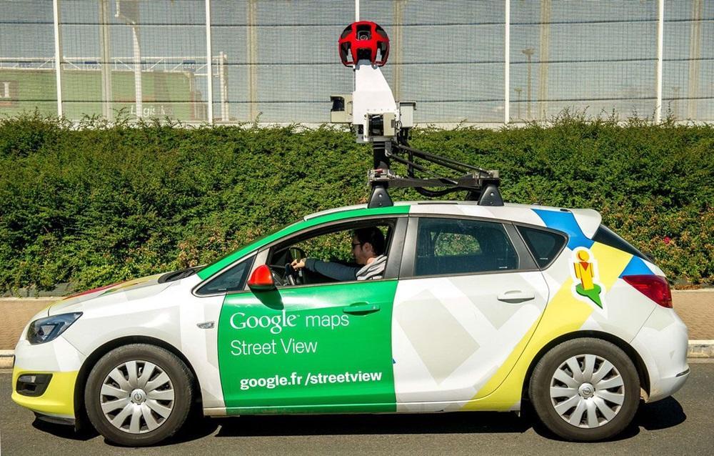 Coche de Street View de Google Maps