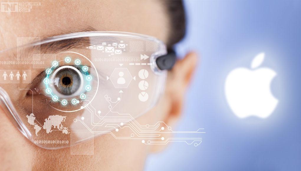 Concepto de gafas de realidad aumentada