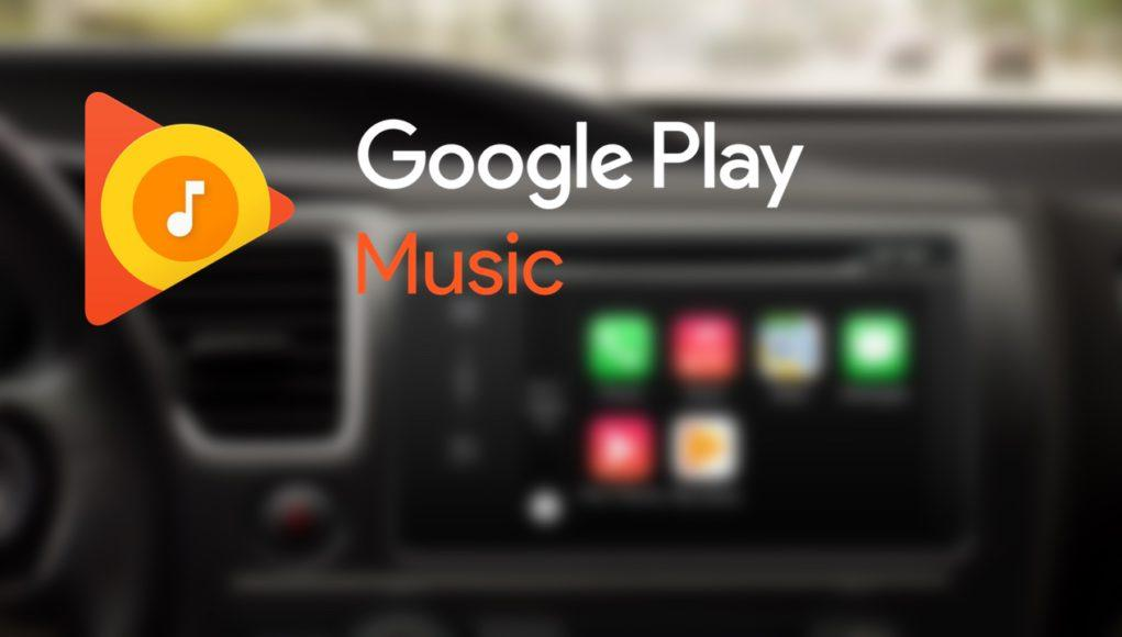 Google Play Music en CarPlay