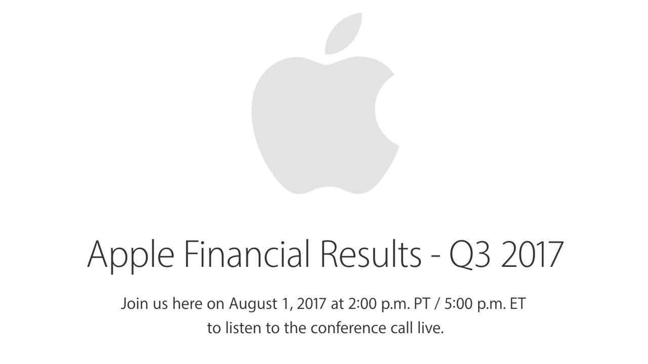 Informacion oficial resultados fiscales Q3 2017