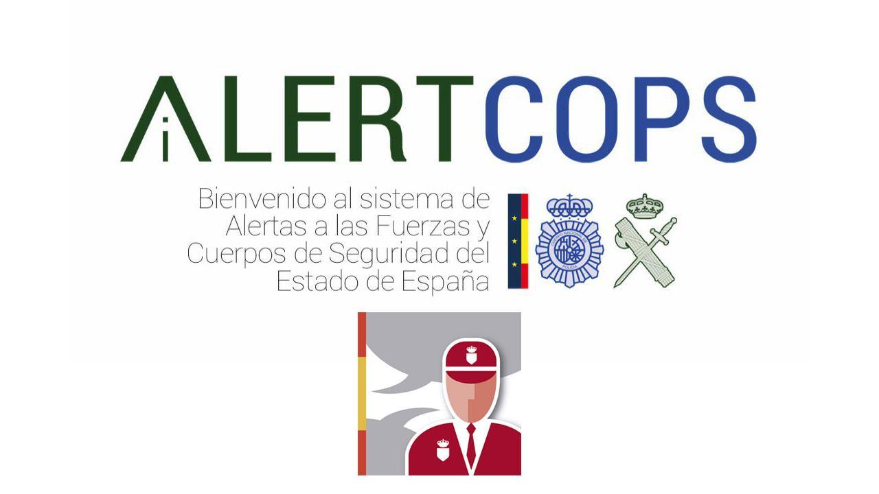 Avisa a la Policía desde la app AlertCops