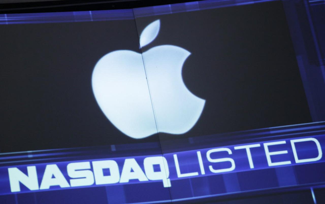 Acciones de Apple en Nasdaq