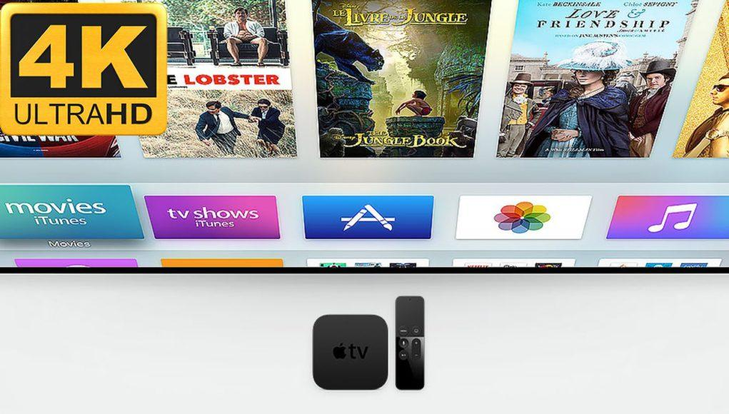 Apple TV con 4K