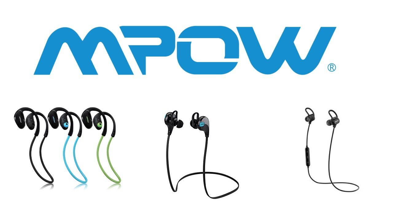 Auriculares deportivos MPOW
