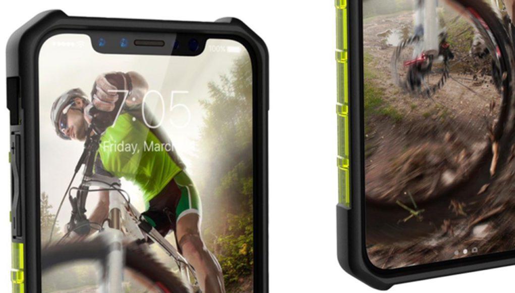 Nuevo render iPhone 8 con funda