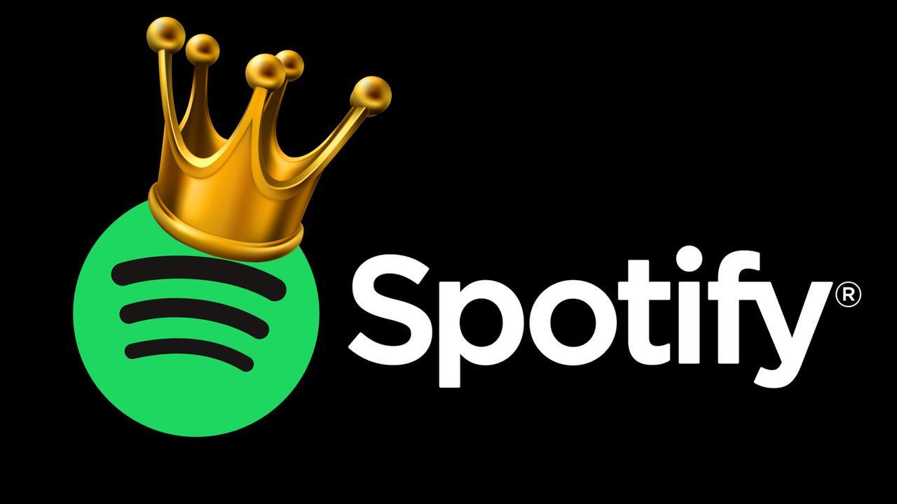 Spotify sigue siendo el rey