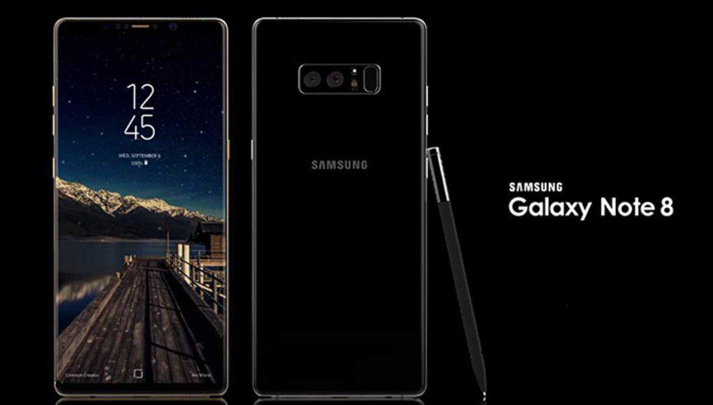 Galaxy Note 8 de Samsung