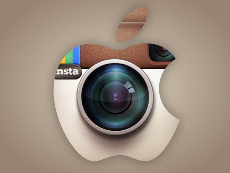 Apple sube contenido a Instagram.