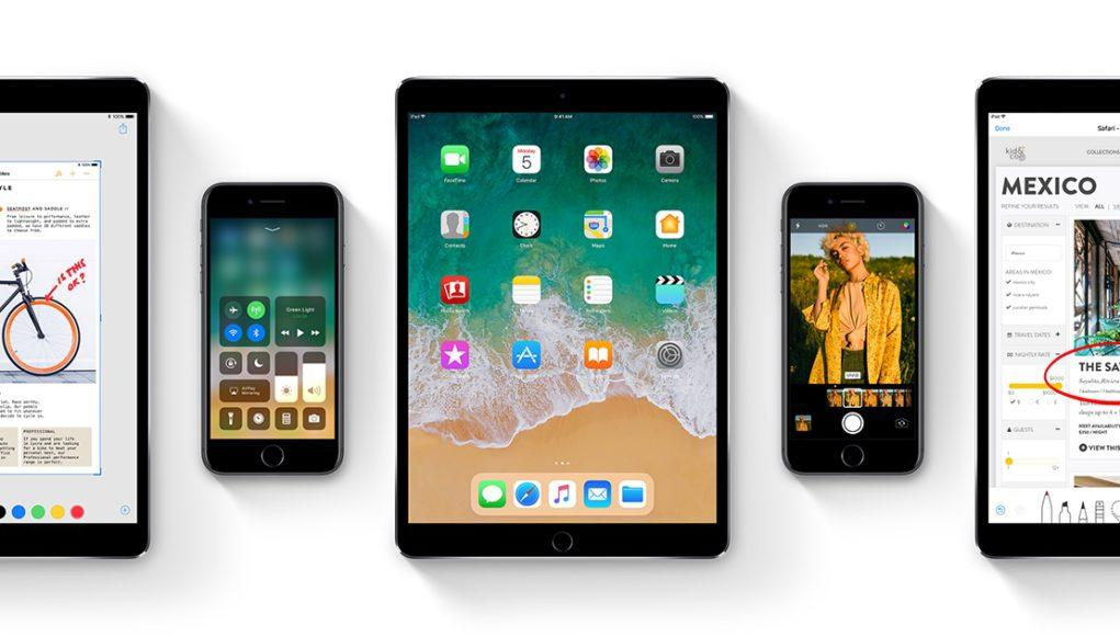 iOS 11 en iPad y iPhone