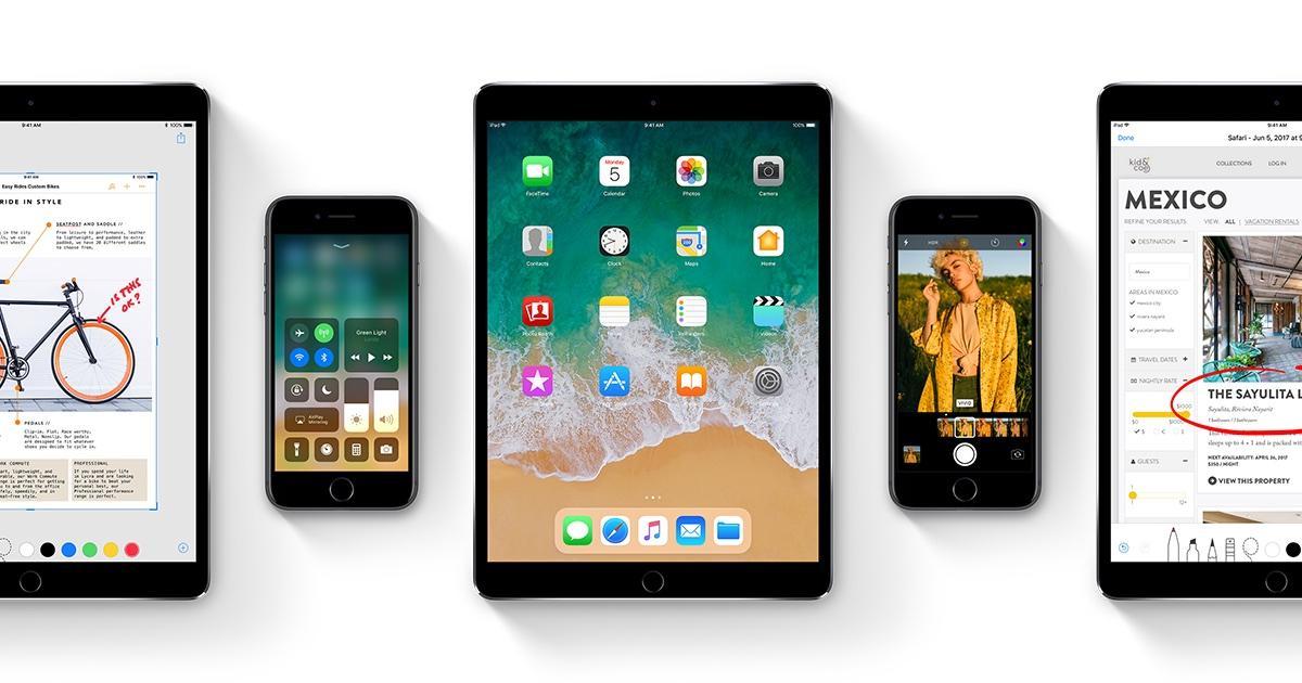 iOS 11 en iPad y iPhone