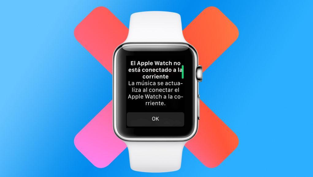 Apple Watch No Música