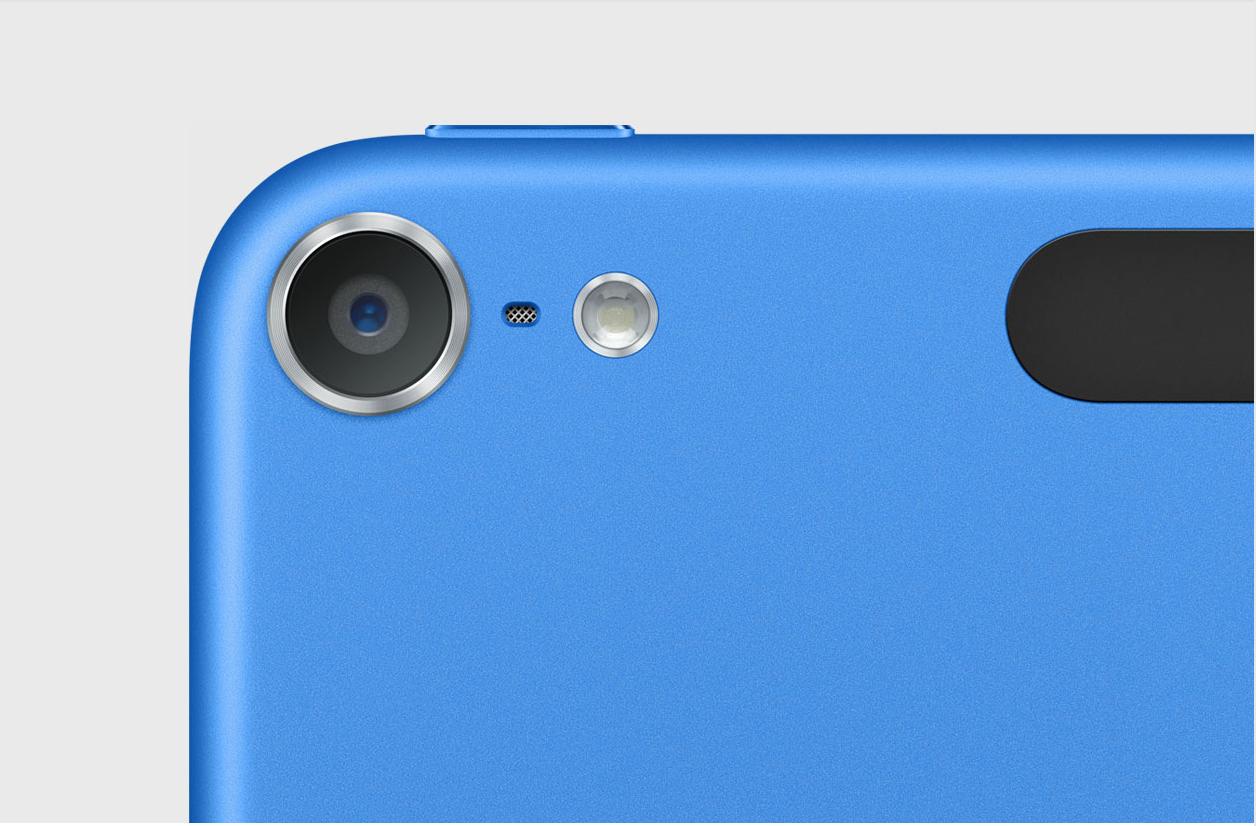 iPod touch 6ª generación azul