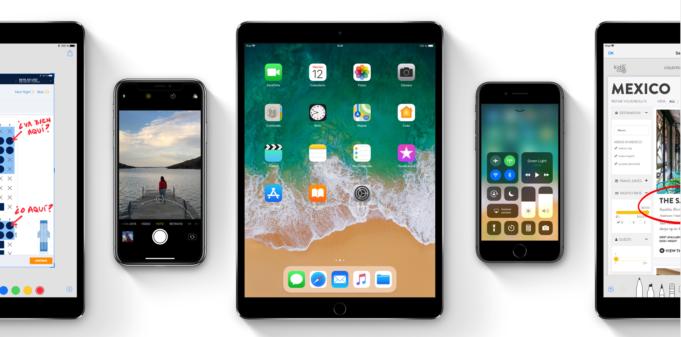iOS 11 - iPad - iPhone - iPod