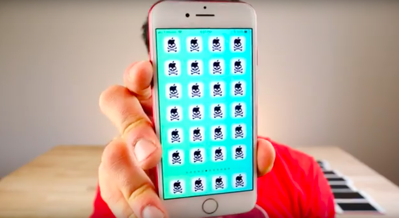 malware en iOS 11