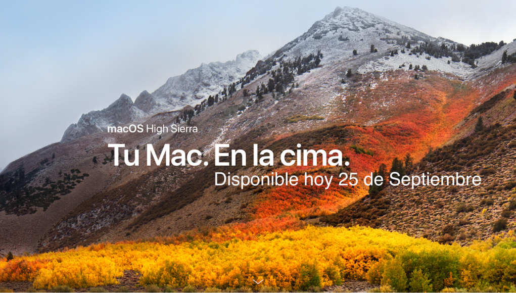 macOS High Sierra Apple 5x1