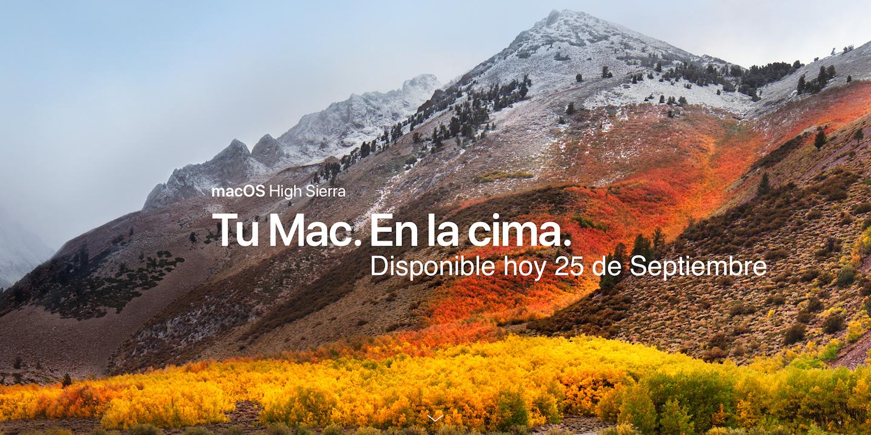 macOS High Sierra Apple 5x1