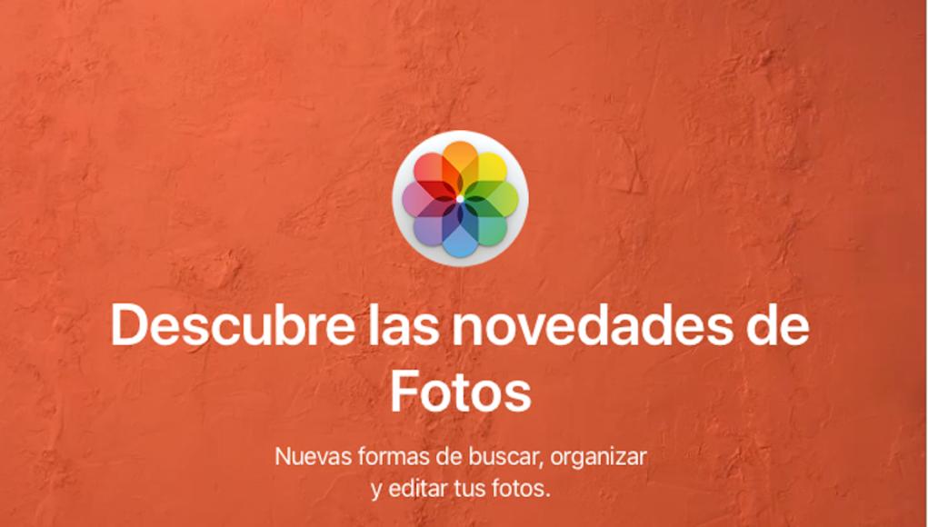 Fotos macOS High Sierra 10.13 Novedades