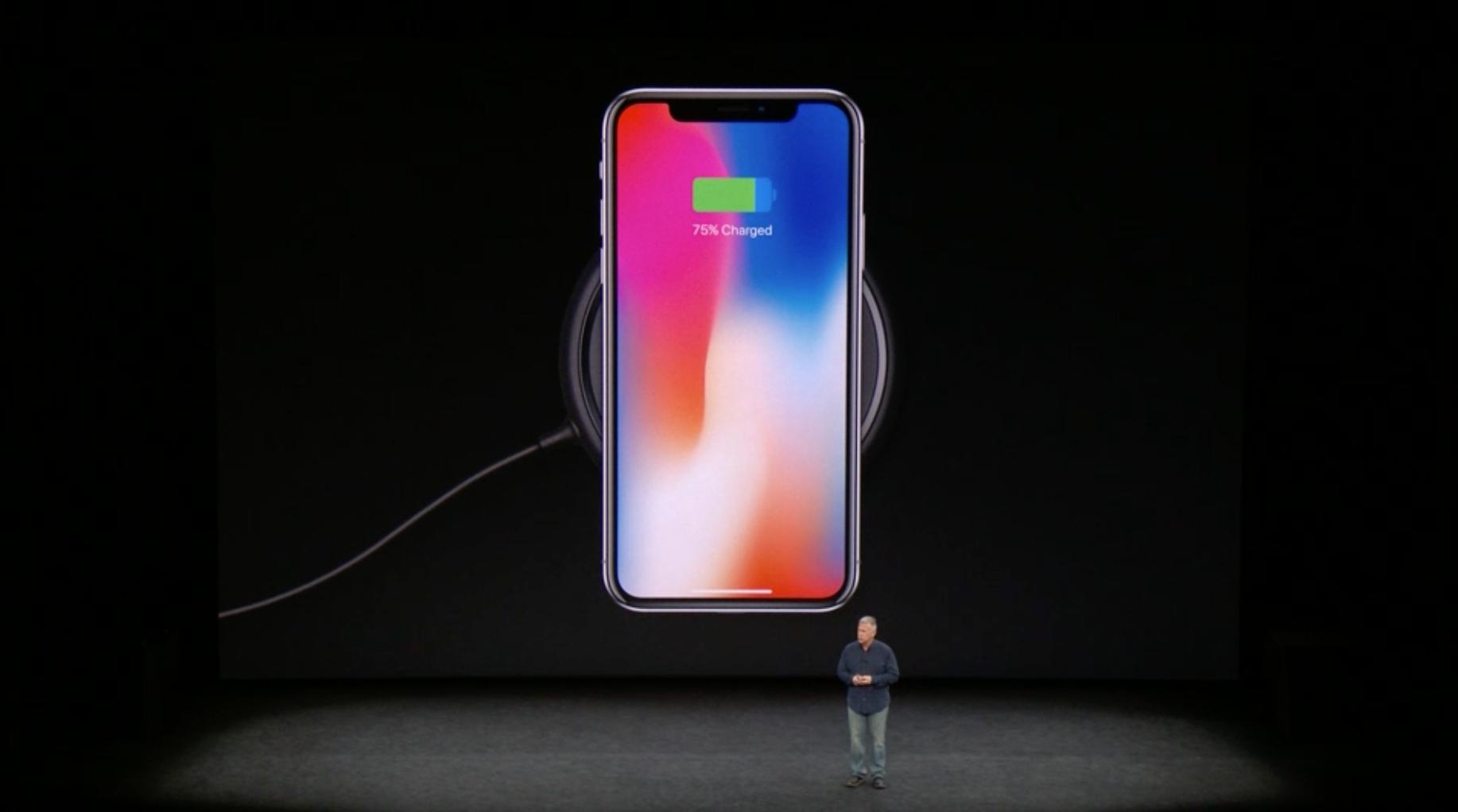 Air Power iPhone X