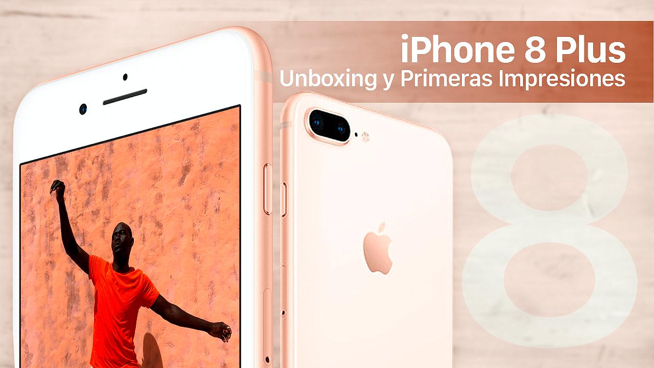 Unboxing iPhone 8 Plus