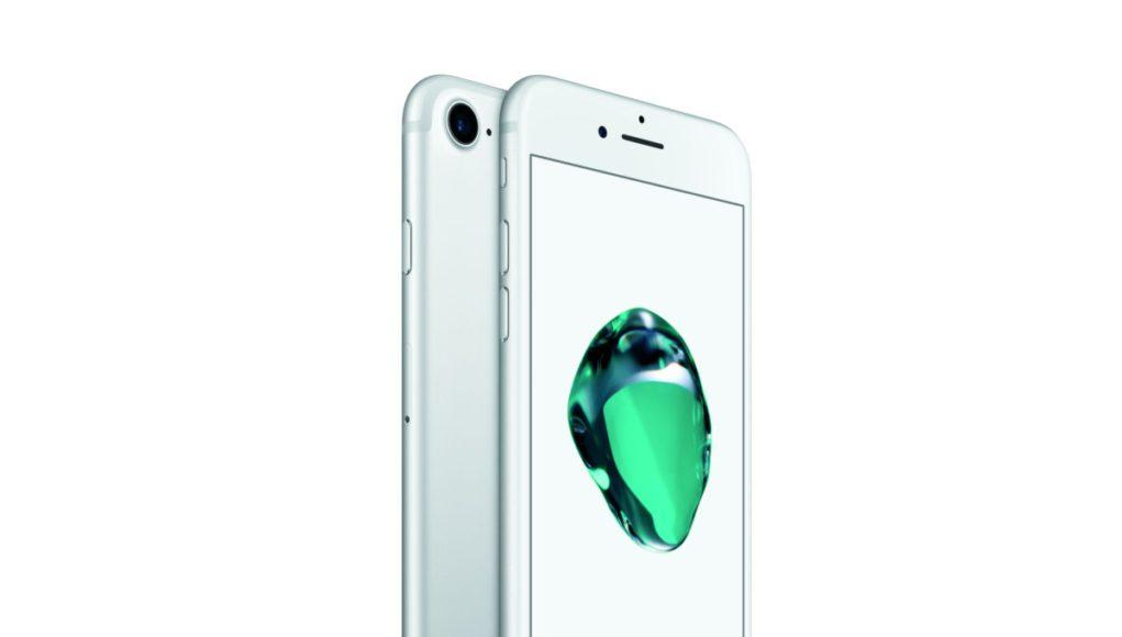 iPhone 7 en plata