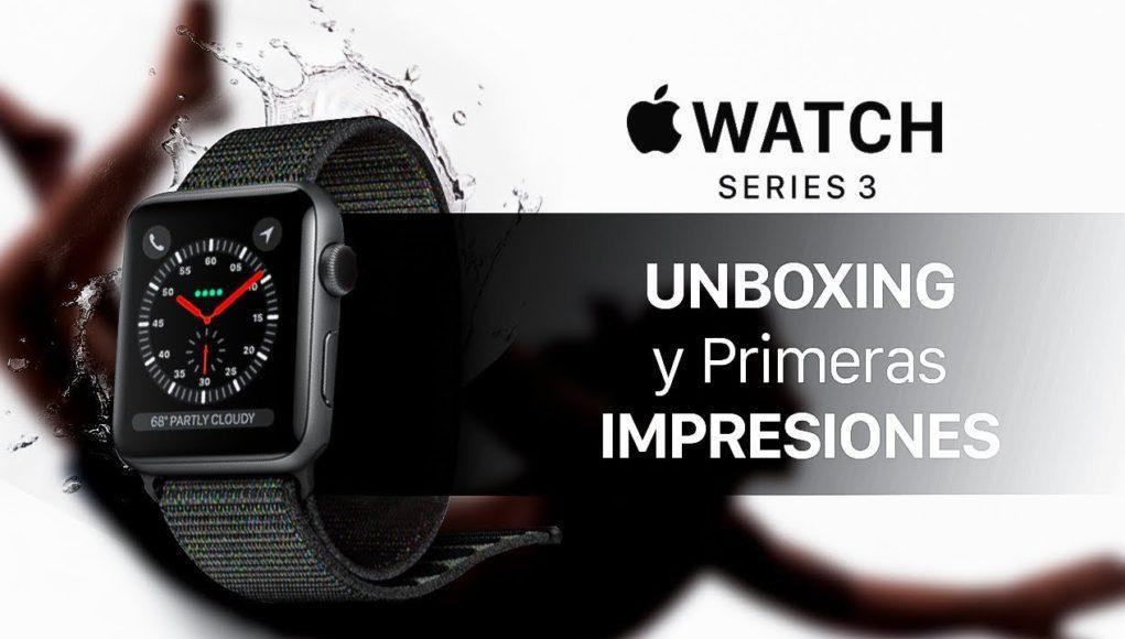 Apple Watch Series 3 Impresiones