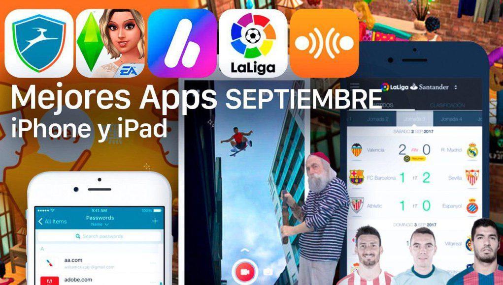 Apps Septiembre