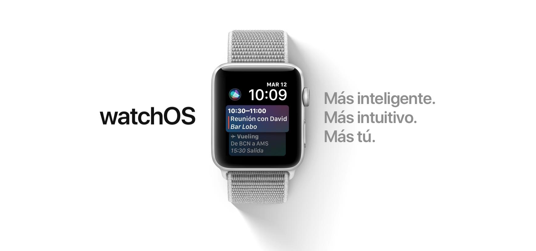 watchOS 4 Apple Watch Series 3