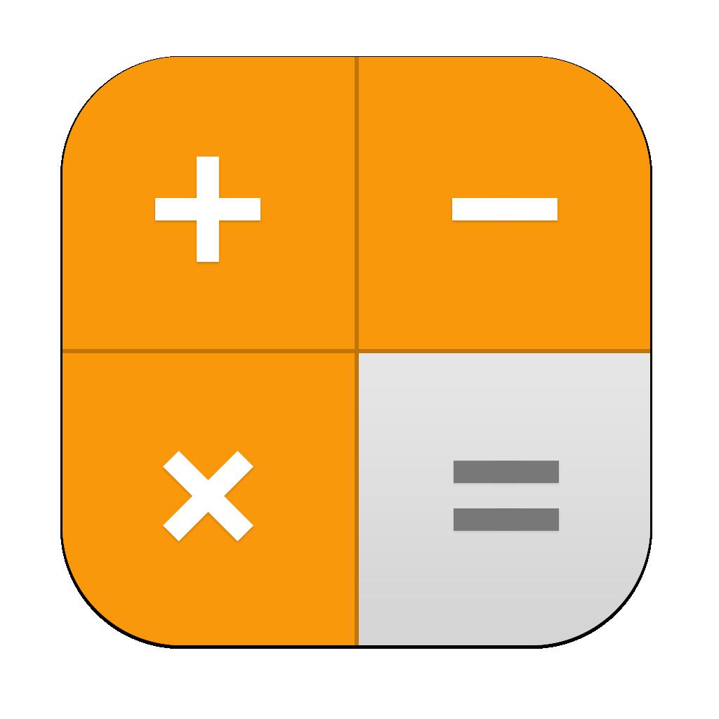 Calculadora iOS 11 icono