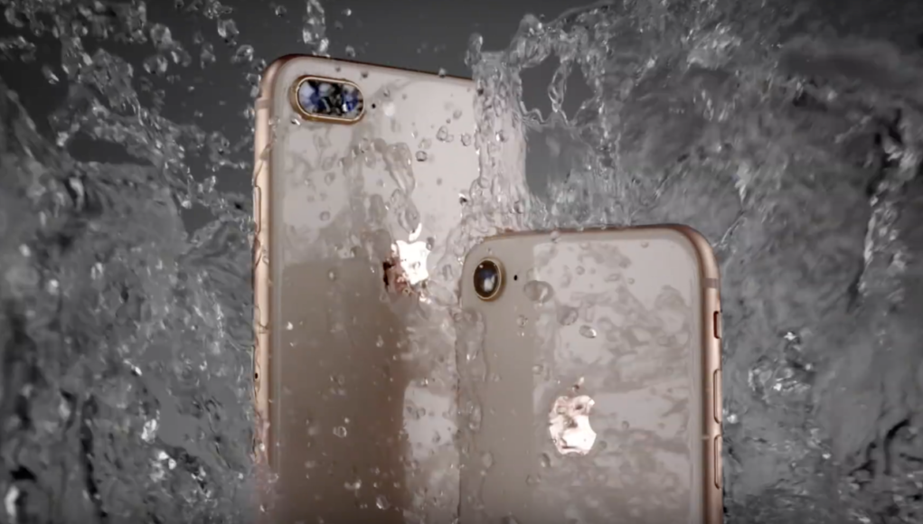 iPhone 8 - Agua