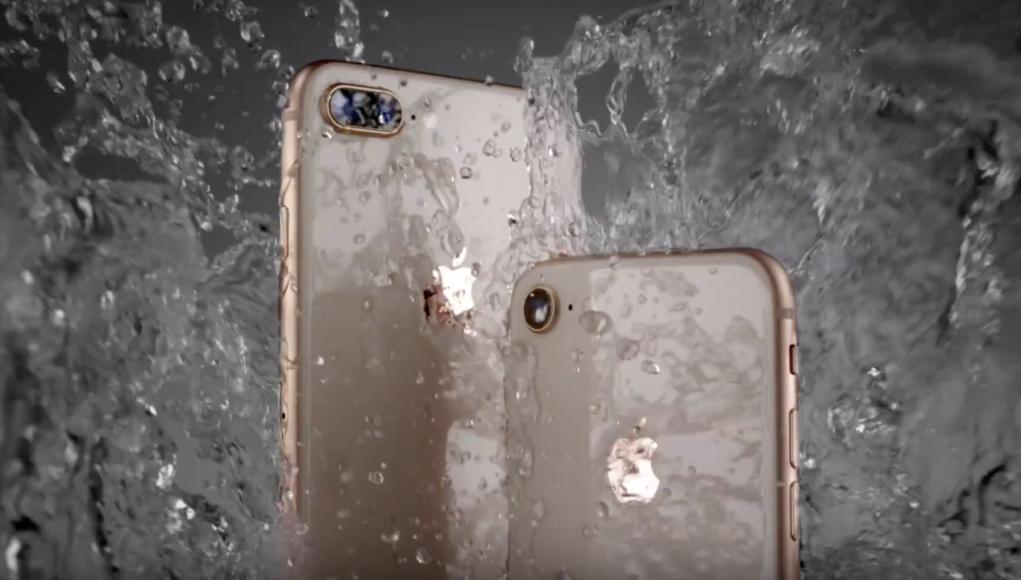 iPhone 8 - Agua