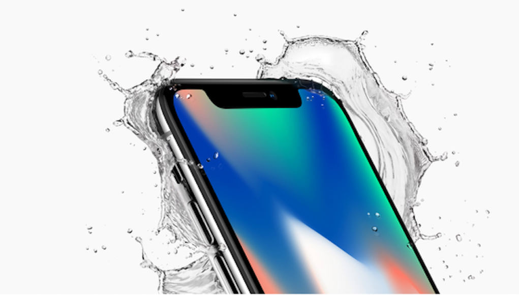 iPhone X Agua
