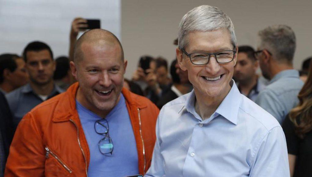 Joni Ive Tim Cook iPhone X