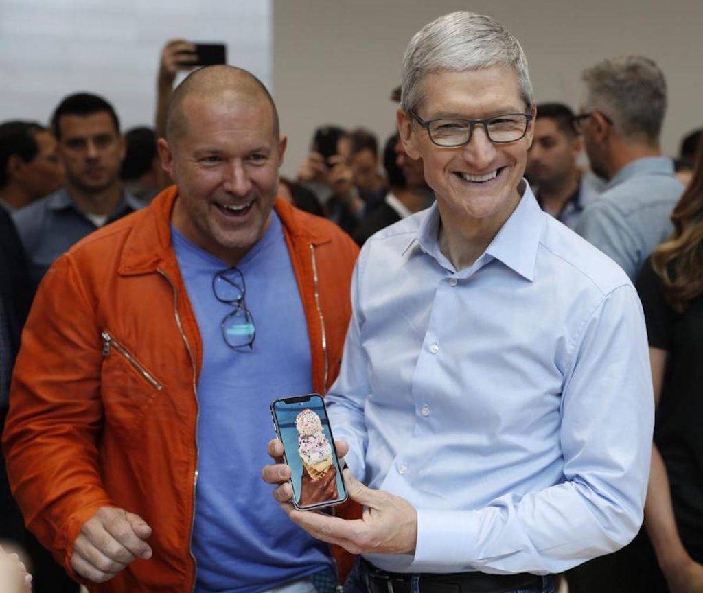 Joni Ive Tim Cook iPhone X