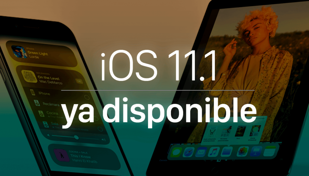 iOS 11.1 disponible