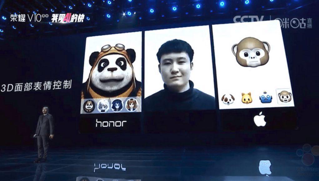 Animoji Huawei Apple