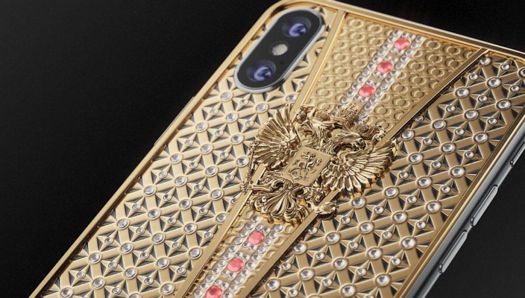 IPhone X exclusivo Caviar