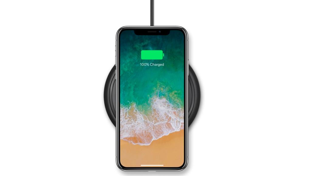 carga rápida por inducción iPhone X