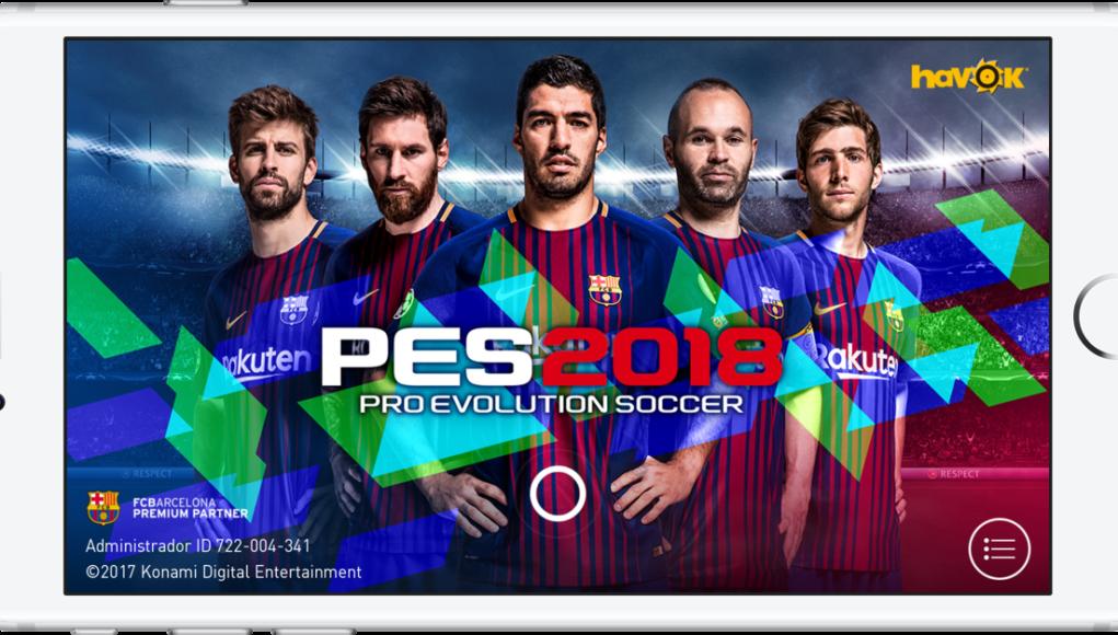 PES 2018 iPhone